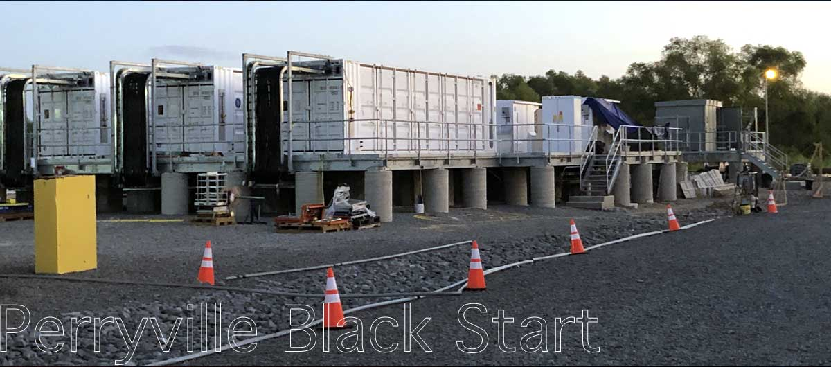 (IPD) Industrial Process Design Case Study about Perryville Black Start